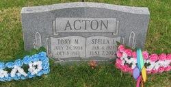 Tony M Acton