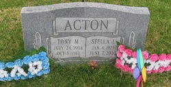 Stella L <I>Mohn</I> Acton
