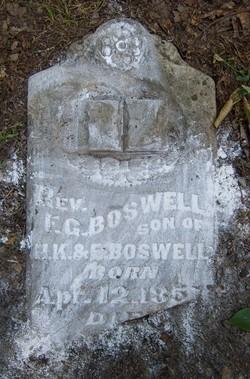 Rev E G Boswell