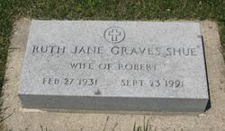 Ruth Jane <I>Graves</I> Shue