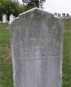 Christian R. Hoover