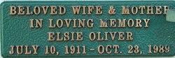 Elsie <I>Hase</I> Oliver