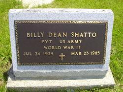 """William Dean """"Billy"""" Shatto"""
