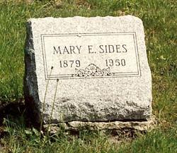 Mary E <I>Galloway</I> Sides