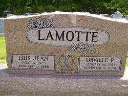 Lois Jean <I>Yount</I> LaMotte