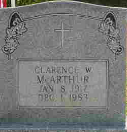 Clarence William McArthur