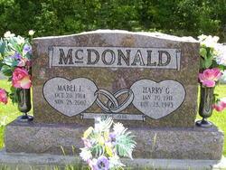 Harry G McDonald