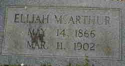 Elijah M. McArthur