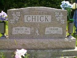 Virgie M <I>Strohl</I> Chick