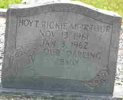 Hoyt Rickie McArthur