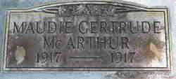 Maudie Gertrude McArthur