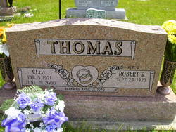 Cleo Mae <I>Turner</I> Thomas