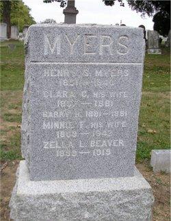 Clara C. <I>Harbaugh</I> Myers