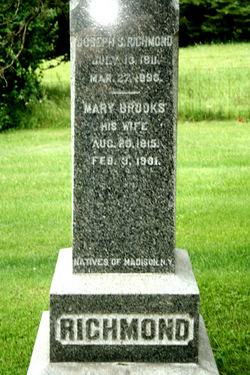 Mary <I>Brooks</I> Richmond