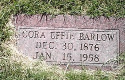 Cora Effie Barlow