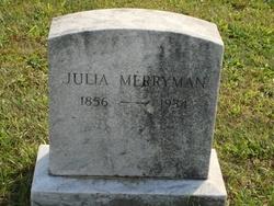 Julia Merryman