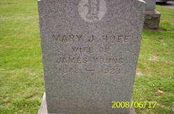 Mary J <I>Hoff</I> Young