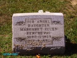 Margaret Ellen Kercheval