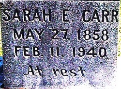 Sarah E. Carr