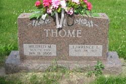 Mildred M. <I>Lee</I> Thome