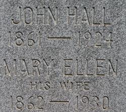 Mary Ellen <I>Pearson</I> Hall