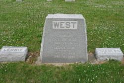 """Leona E. """"Leonie"""" <I>Dow</I> West"""