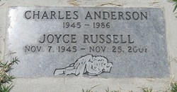 Joyce F. <I>Russell</I> Anderson