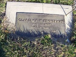 Clarence H Zimmerman