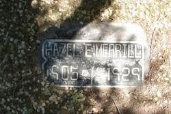 Hazel Ethel <I>Needham</I> Merrill
