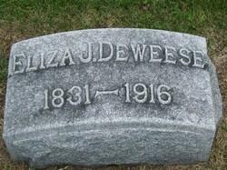 Eliza Jane <I>Stillwell</I> DeWeese