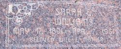 Sarah Estella <I>Wright</I> Williams