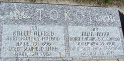 Julia Anna <I>Peters</I> Tokoi