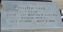 Foster Leek