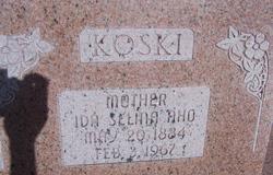 Ida Selina <I>Aho</I> Koski
