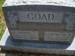 "Gertrude R. ""Gertie"" <I>Tadlock</I> Goad"