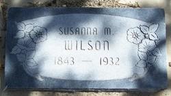 Susanna Martha <I>Martin</I> Wilson