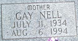 Gay Nell <I>Weddle</I> Banks