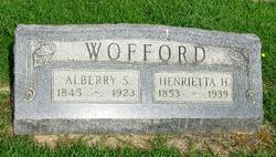 Alberry S. Wofford