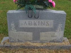 Effie A <I>Lambert</I> Adkins