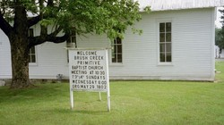 Brush Creek Primitive Baptist Church Cemetery