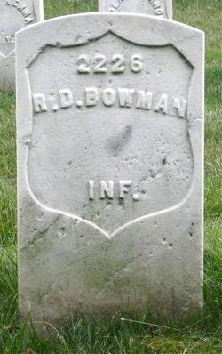 """Rice Duncan """"R.D."""" Bowman"""