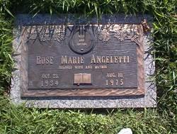 Rose Marie <I>Cagle</I> Angeletti