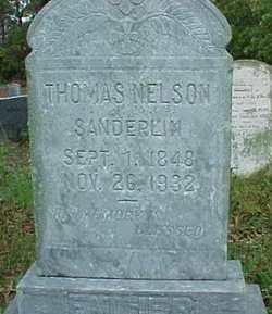 Thomas Nelson Sanderlin, Sr