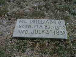 """Mahala Jane """"Jana"""" <I>McGary</I> Williams"""