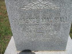 Florence May <I>Hall</I> Nielson
