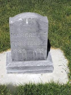 Margrethe <I>Thompson</I> Christiansen