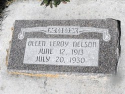 Oleen Leroy Nelson
