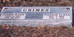Gladys Marie <I>Howe</I> Grimes