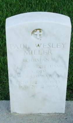 Paul Wesley Miller
