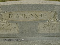 """Wilma Lucille """"Lucy"""" <I>Brown</I> Blankenship"""